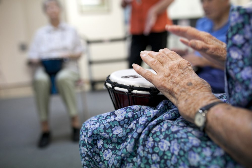 Try your hand at a new instrument at Autumn Lodge