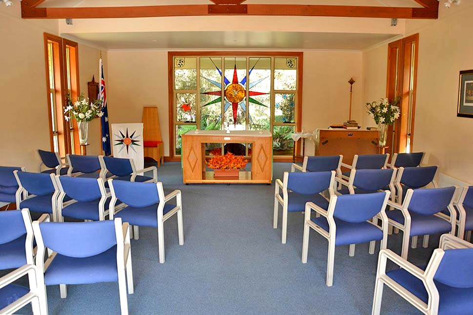 Interdenominational services are regularly held in our chapel.